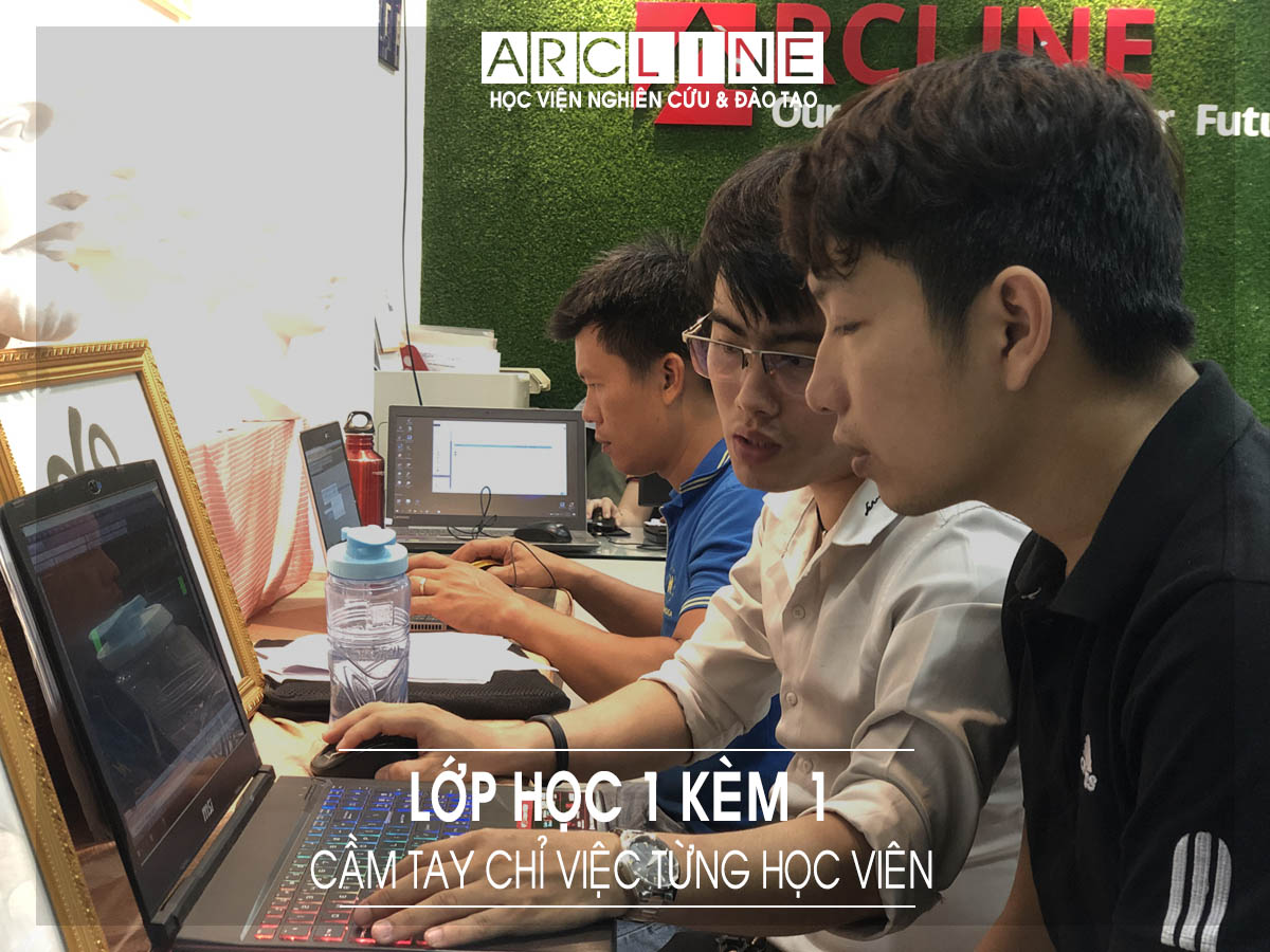 hinh anh lop hoc arcline academy