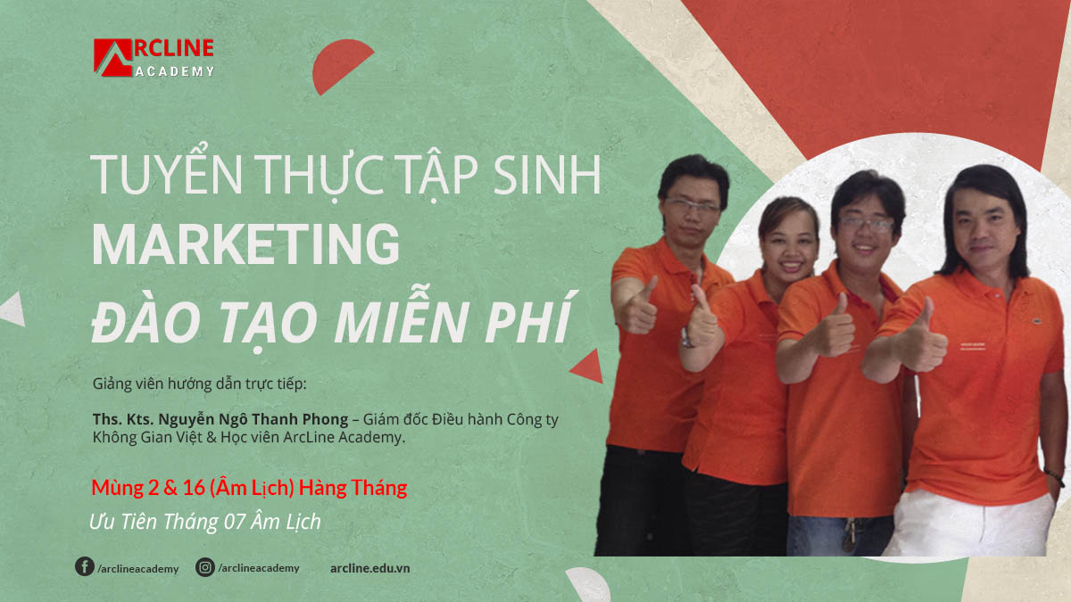 tuyen thuc tap sinh marketing